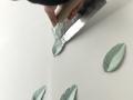 艺术漆树叶制作