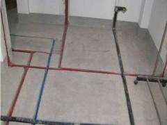 家裝開槽水管開展電線開槽