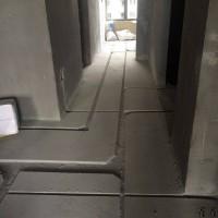 家装开槽水管开槽施工直径20一根管子40mm*40mm砖墙