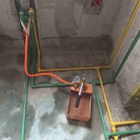 家装水管施工德国成家包安装规格25*4.2
